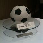 The Soccer Ball Cake