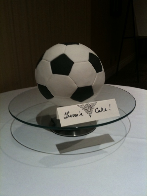 The Soccer Ball Cake