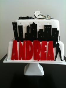 Bond Girl Cake