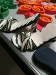 High heel detail