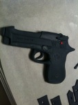 The Beretta 9mm