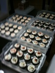 7 dozen chocolate cupcakes