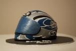 Sportbike Helmet Cake