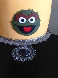 Sesame Street Cake Oscar
