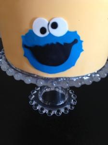 Sesame Street Cake Cookie Monster