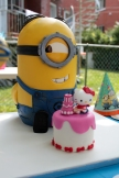 Minion and His Cake