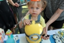 Minion Cake About To Get Eaten