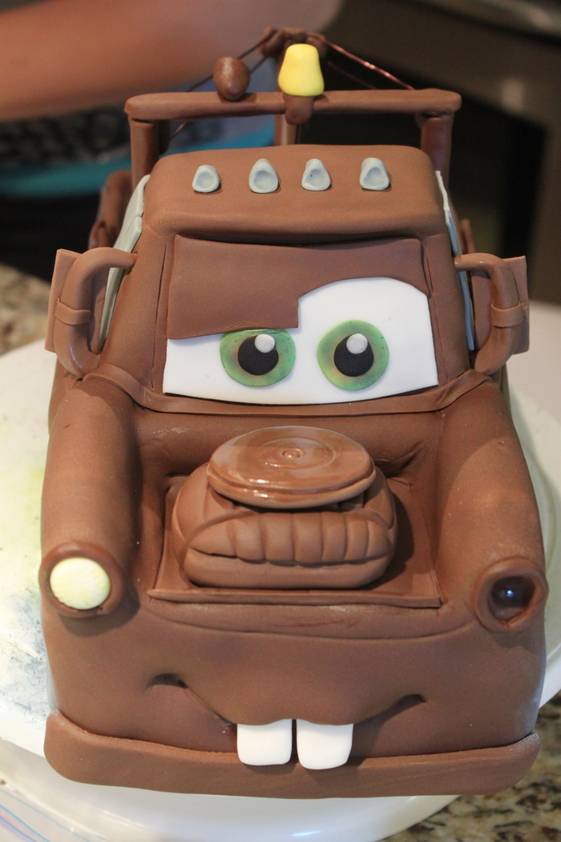 Tow Mater Cars Themed Birthday Cake S 249 Cr 233 Designer Cakes