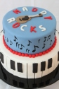 Music Themed Birthday Cake