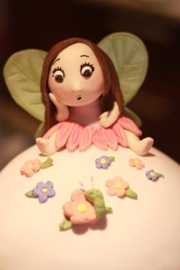 Fairy First Birthday Cake