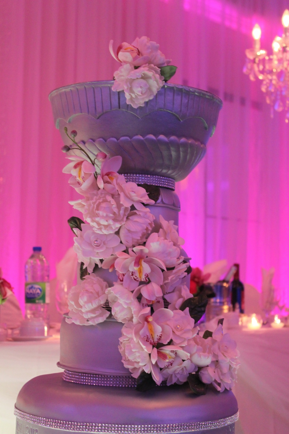 Cake Portion of the Stanley Cup Wedding Cake