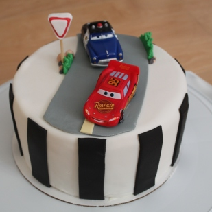Another Car Themed Birthday Cake